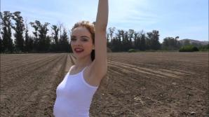 Aliya has a date with you at the farm!